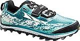 Altra King MT Off Road Zapatillas de running gris/magenta para mujer, color Negro,...